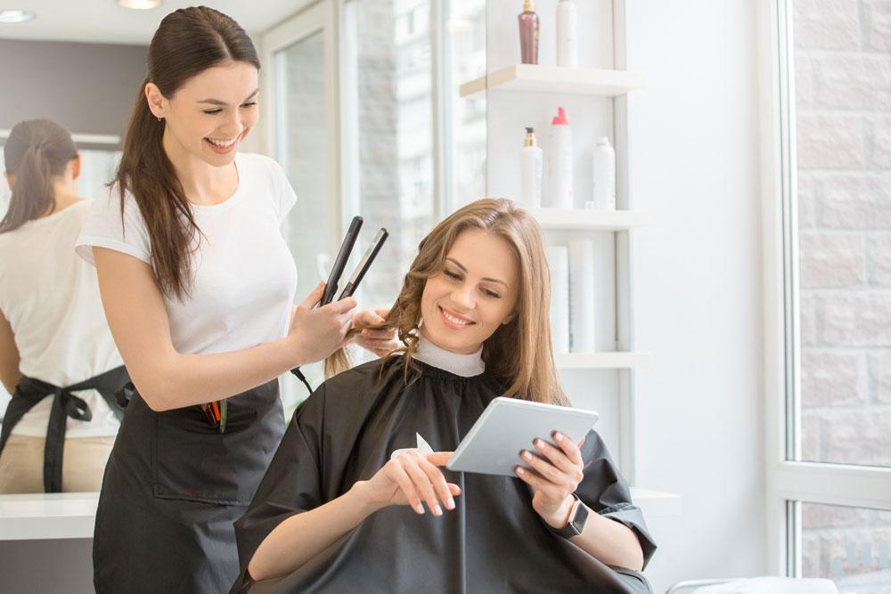 find a beauty salon