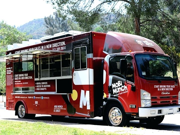 renting a food truck